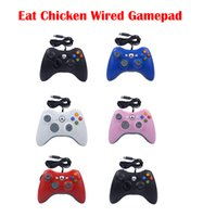 Wired Game Controller USB Computer Handle PC Universal Eat Chicken Gamepad for X Box One Controllers 5 Colors Optional