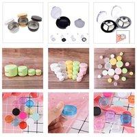 Storage Bottles & Jars Plastic Cosmetics Jar Makeup Box Nail Art Pot Container Clear Sample Lotion Face Cream Powder Eye Shadow