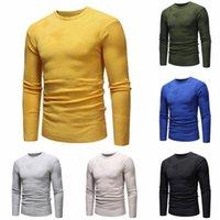 Новый мужской осень зимний свитер пуловер Slim Jumper трикотаж дышащий вариант блузки падение доставки весна осень q7gq #