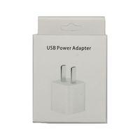 좋은 품질 빠른 속도 충전기 플러그 5V 1A 1000mA USB 포트 US 충전 AC 홈 여행 벽 충전기 어댑터 아이폰 5 6 7 8 x 11 12 플러스 프로와 소매 상자