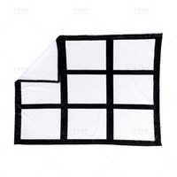 Sublimation Blank Blanket Black White Printing Pictures Woman Man Home Supplies Fashion Accesories Throw Blankets 19 76yp K2
