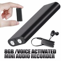 Digital Voice Recorder 8GB MINI Secret Intelligent Pen USB Activated Audio Mp3 Player 192Kbps Recording