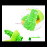 야채 도구 액세서리 크리 에이 티브 레몬 분무기 과일 주스 감귤류 라임 Juicer Spritzer 주방 가제트 Goo Wmtshc EX8CR H693J