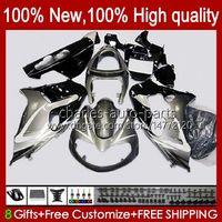 Suzuki Srad TL-1000 TL-1000R 98-03 Bodywork 19HC.23 TL1000 R 98 99 00 01 02 03 TL 1000R 1999 1999 2000 2000 2001 2002 2003ボディキット銀色ブラック