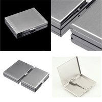 Cigarette Cases Metal Material Cigarettes Cases 302 Stainless Steel Boxes Originality Mens Organizer High hardness Commercial Affairs Gift 11hy F2 AOK7{category}