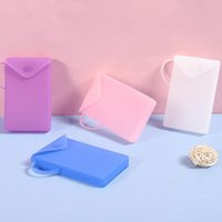 Silicone Mask Cover Bag Portable Facemask Holder Face Mask Storage Case Save Mask Boxes Portable Travel Organizer