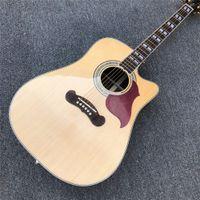 41 인치 Cutaway SongWriter 디럭스 스튜디오 어쿠스틱 기타 솔리드 스프루스 탑 로즈 우드 - 바디 Guitare ouustique 로즈 우드 fretboard