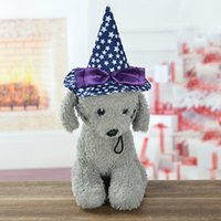 Dog Apparel Halloween Witch Hat Fit Cat Pet Party Fancy Dress Up Costume Accessories H1
