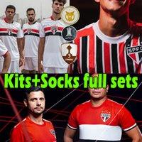 2021 2022 Sao Paulo Soccer Jersey São Paulo Dani Alves Männer Kids Kits + Socken Full Sets Luciano Igor Gomes Pablo Camisa 21/22 Fans Spielerversion Torwart Footbal Shirt