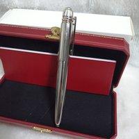 Stylo à rouleaux de luxe de haute qualité Papeterie de bureau de haute qualité Signature Mode Fashion Cadevel-cadeau d'affaires exquis Festival-cadeau (boîte originale optionnelle)