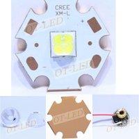 Bulbs 1PCS Original Authentic 18W 6V Cree XHP50 XHP-50 Led Emitter Lamp Light Cool White 6500K On 20MM Copper PCB Board
