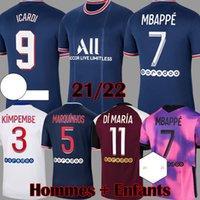 maglietta PSG 2019 2020 2021 Paris 19 20 Pullover di calcio MBAPPE saint germain maglie di calcio VERRATTI psg kits bambini camisetas KIMPEMBE top uniforme