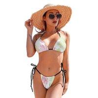 One-Piece Suits Bikini Swimsuit Deep V Women Swimwear Simple Rave Two Piece Bathing Suit