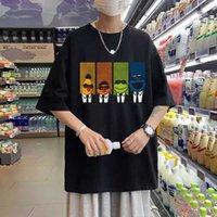 Ключевые слова на русском: резервуар кувметки печенье монстр футболка для мужчин удобные хлопковые тройники смешные милые улицы мужчина женщина корейский тренд футболки