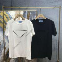 2020 NEUE SOMMER Designer Herren Brief Druck T-shirt Mode Solide Farbe Kurze Ärmeln T-shirts Designer T-Shirt T-Shirt Baumwolle Casual T-Shirt