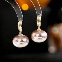Dangle & Chandelier Fashion Korean Sweet Party Jewelry Synthetic Pearl Lady Earrings
