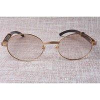 Yeni Yuvarlak Güneş Gözlüğü 7550178 Doğal Siyah Açı Erkekler ve Kadın Boyutu: 55-22-135mm Göz