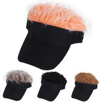 Ball Caps Creative wig baseball hat hip hop sunshade golf hat funny duck tongue sun hat