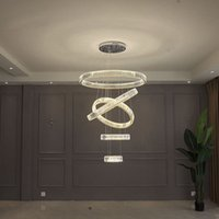 PL-721 Round crystal pendant lamps ,  modern chandelier with gold chrome lamp for home lighting, living room, restaurant, DIY
