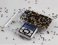 Escalas digitales Digitals Escala de joyería Gold Silver Moneda Grano gramo Tamaño de bolsillo Hierba Mini retroiluminación electrónica 100 g 200 g DHA7062