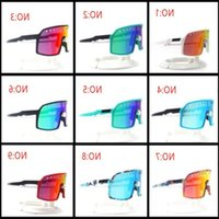 Eyewear Polarized Sport Sutro Fashion Package Running Cycling Color TR90 Sunglasses Outdoor Men 11 Glasses 3 Pairs Lens With OO9406 Kksrg