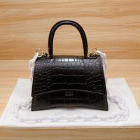 2021 SS Handbags Bolso de reloj de reloj de reloj de lady Bolsos de hombro Todos Match Classic Cocodrilo Patrón de Cross Rostro Cross Body-Handbag Famosa Designer Mujer Moda Bolso de moda