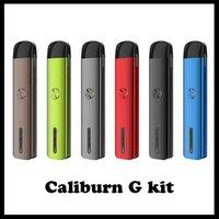 Caliburn G Pod System Kit Built-in Battery 2ml t with 690mAh Top-Fill Cartridge 15W MTL DTL Vape Pen Kits vs puff bar xxl 0268266-02
