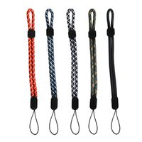 Ascromy Adjustable Cellphone Strap Nylon Wrist Lanyard For Phone Case Camera USB Flash Drives Keys Keychain ID Tag Accessories