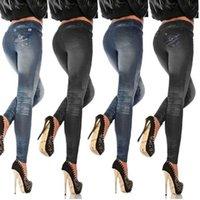 Women's Leggings Push Up Seamless High Waist Warm Jeans Women Autumn And Winter Jeggings Pants Leggins Stretch Well