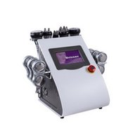 40K 초음파 Cavitation 무선 주파수 기계 진공 RF 6 패드 EMS 마이크로 전류 바디 슬리밍