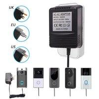 Doorbells US UK EU Plug 18V AC Transformer Charger For Wifi Wireless Doorbell Camera Power Adapter IP Video Intercom Ring 110V-240V