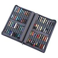KACO PEN-Hülle für 40 Füllfederhalter / Rollerball Stift Gray Pouch Bleistift Tasche Fallhalter Lagerung Organizer Wasserdicht