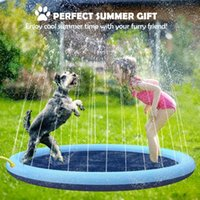 Kennels Pens Pet Play Play Sprinkler Pad Dog Acqua Spray Splash Mat PUBBY Gommone Piscina Summer Cooling Game