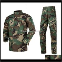 Gym Clothing Exercise Fitness Wear Athletic Outdoor Apparel Sports & Outdoors Drop Delivery 2021 Men Army Uniform Tactical Special Forces Com