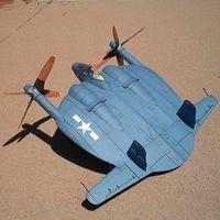 1:32 مقياس XF5U-1 تحلق فطيرة diy ورقة نموذج مقاتلة 3d diy papercraft لعبة نموذج العسكرية