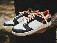 Classical Dunks Low Pro Halloween Sneaker Sneaker Scarpe Runner Basket Black Black Bianco Arancione Sport Trainer Reflex Skateboard Casual Sneakers Dimensioni 36-45