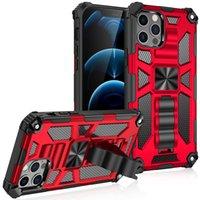 Anti-Fall-Kickstand Telefon-Fälle für iPhone 12 11 PRO max XR XS X SE 2 7 8 PLUS 6S 6 auf SAMSUNG A82 A72 A52 A32 A22 4G 5G A12 A02 A21 A71 A51 A21 A21S