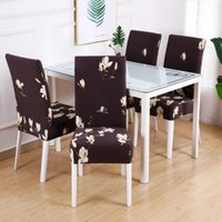 Stretch Floral Print Chair Cover Home Dining Room Covers Mul...