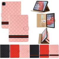 루이 Vuitton for iPad Pro11 12.9 고급 태블릿 PC 케이스 ipad10.9 Air10.5 AIR1 2 mini45 iPad10.2 iPad56 최고 품질 디자이너 패션 가죽 카드 FQRF LV