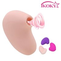 Vibratoren Ikoky Klitorale Vakuumstimulator Blowjob Vibrierender Nippel Saugen Vibrator Clit Vagina 10 Frequenz Oral Sex