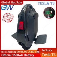 GOTWAY BETODE TESLA T3 Self Balance Electric Roller 84V 1500WH 2000W LG Ein Rad E-Monowheel mit Bluetooth-Lautsprecher