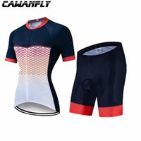 Гоночные наборы 2022 Cawanfly Cawanfly Велосипедная рубашка Женщины Летние Шорты Носить Велосипед Маллиот Велосипедные Костюмы Костюмы Ciclista Feminine