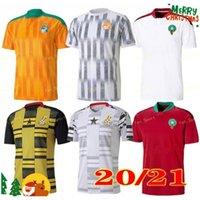 2020 2021 مصر M.salah 10 صلاح ساحل العاج غانا المغرب لكرة القدم الفانيلة 20 21 منزل بعيدا جيرسي قمصان كرة القدم