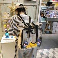 Сумки рюкзак стиль женщины ясный большой рюкзак большой рюкзак с утками большой дисплей слой школьные сумки ITABAG SAC 15,6 дюймов ноутбук H222
