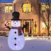 Party Dekoration 1.6m Outdoor Aufblasbare Weihnachtsdekorationen Eingebaute LED-Lichter Blow Up Snowman Yard Hyd88