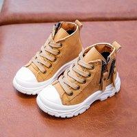 الأحذية كابسيلا الاطفال طفل الفتيات الفتيان الأحذية الرياضية الخريف الشتاء الدافئ عدم الانزلاق زائد المخملية الأطفال 21-30