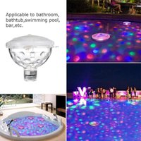 Pool & Accessories Floating Underwater Light LED Lamp Submersible Swimming For Party Pond Bathtub Decoration