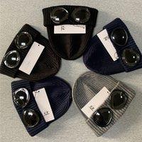 Yeni Kışlık Gözlük Şapka CPDD Nervürlü Örgü Lens Beanie Şapka ST Sokak Hip Hop Örme Beanies
