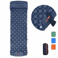 Outdoor Pads Camping Air Mattress With Pillows Inflatable For Sleep Tourism And Sleeping Pad Self-inflating Mats