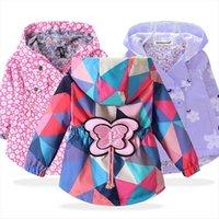 Keaiyouhuo abrigos de otoño chaquetas para niños para niños ropa exterior de bebé de manga larga para niños ropa con capucha
